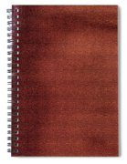 Red And White Stripe Spiral Notebook