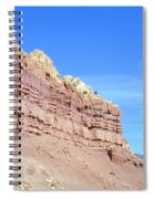 Red And Yellow Fortress Number 2 Spiral Notebook