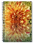 Red And Yellow Reflection Spiral Notebook
