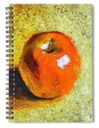 Red Apple Spiral Notebook