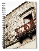 Red Balcony Spiral Notebook