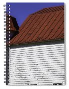 Red Barn Close Up Spiral Notebook