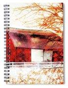 Red Barn Spiral Notebook