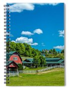Red Barn On Hoyt Road Spiral Notebook