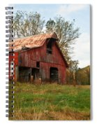 Red Barn Putnum County Spiral Notebook