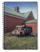 Red Barn Red Truck Spiral Notebook