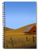 Red Barn Summer Spiral Notebook