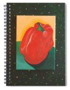 Red Bell Spiral Notebook