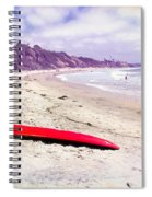Red Board Spiral Notebook