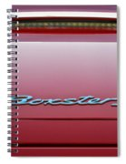 Red Boxster S Spiral Notebook
