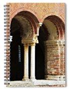 Red Brick Arches Regular Spiral Notebook