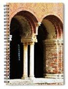 Red Brick Archway Soft Spiral Notebook