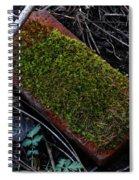 Red Brick Spiral Notebook