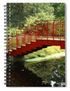 Red Bridge  Spiral Notebook