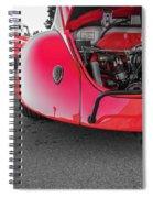 Red Bug Spiral Notebook