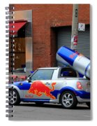 Red Bull Car Spiral Notebook