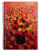 Red Bunch Spiral Notebook