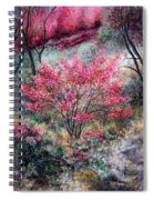 Red Bush Spiral Notebook