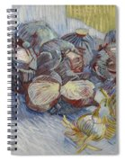 Red Cabbages And Onions Paris, October - November 1887 Vincent Van Gogh 1853  1890 Spiral Notebook