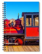 Red Calico Odessa Rr Spiral Notebook