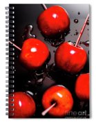 Red Candy Apples Or Apple Taffy Spiral Notebook