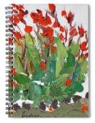 Red Canna  Spiral Notebook