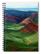 Red Canyon Spiral Notebook
