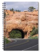 Red Canyon Tunnel Spiral Notebook