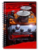 Red Car Engine  Spiral Notebook