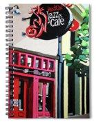 Red Cat Jazz Cafe Spiral Notebook