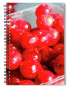 Red Cherries Spiral Notebook