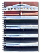 Red Chevrolet Grill Spiral Notebook