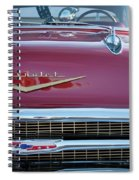 Red Chevy Spiral Notebook