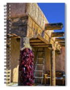 Red Chillies At New Years Spiral Notebook