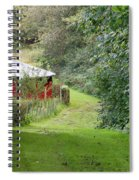 Red Cistern Spiral Notebook