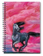 Red Cloud Horse Spiral Notebook