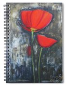 Red Couple  Spiral Notebook