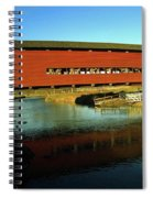 Red Covered Bridge Spiral Notebook