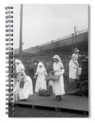 Red Cross: Canteen, C1918 Spiral Notebook