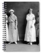Red Cross Corps, C1920 Spiral Notebook