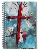 Red Cross Spiral Notebook