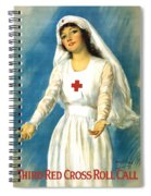Red Cross Nurse - Ww1 Spiral Notebook