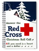 Red Cross Poster, C1915 Spiral Notebook