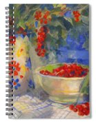 Red Currants Spiral Notebook