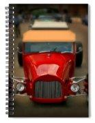 Red Custom Classic Spiral Notebook