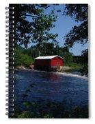 Red Dam In Summer #2 Spiral Notebook