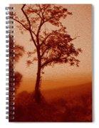 Red Dawn Spiral Notebook
