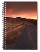Red Dawn Spiral Notebook