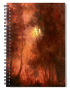 Red Dawn Ridgefield Refuge Spiral Notebook