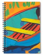 Red Deck Spiral Notebook